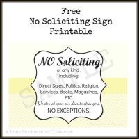 Download Our Free Printable No Soliciting Sign
