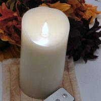 Set The Mood This Holiday Season With LED Flameless Candles