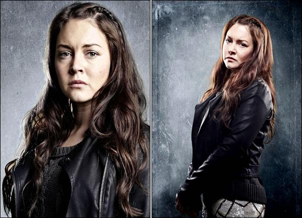 Ellie interprétée par Lacey Turner (vue entre autres dans Being Human)