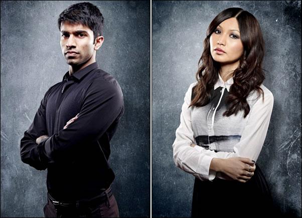 A gauche : Nikesh Patel interprète Dan qui reprend l'ancien appartement de Kate et le partagera avec Max A droite :  Gemma Chan sera Kiera, une amie d'enfance de Kate. Ses parents ont demandé à Warren de la prendre sous son aile.