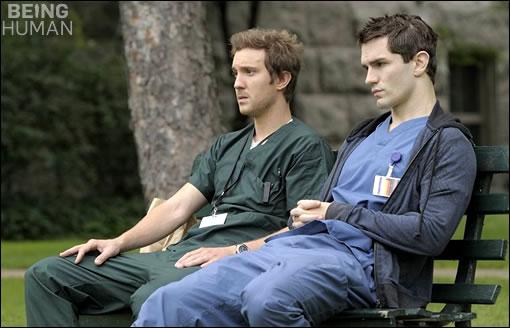 Josh & Aidan en pleine pause ^^