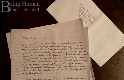 Lettre de George pour Eve - Being Human Series 4 Bonus