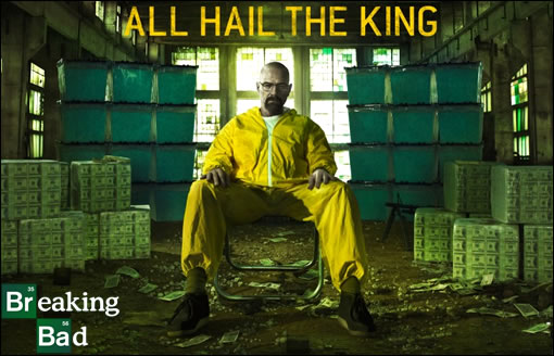 """Breaking Bad : """"All Hail The King""""... tout est dit ! ^^"""