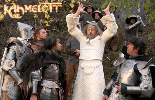 """Merlin fait des """"prouesses"""" dans la série ! ^^;"""