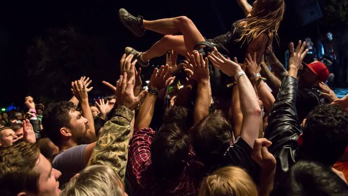 OPETH Fans crowd / / Photo taken by: Ralph Arvesen