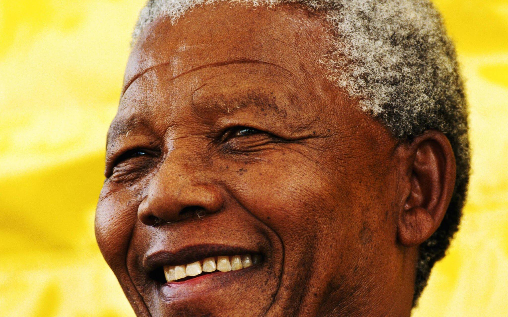 Nelson Mandela, expresidente de Sudáfrica