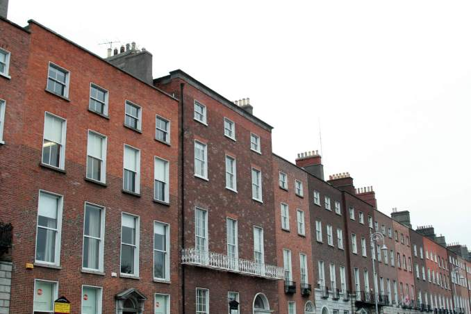Brick houses in Dublin. Photo credit: Livy/Flickr
