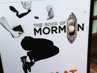 The Book of Mormon Poster (Photo Credit: David McKelvey, via flickr)