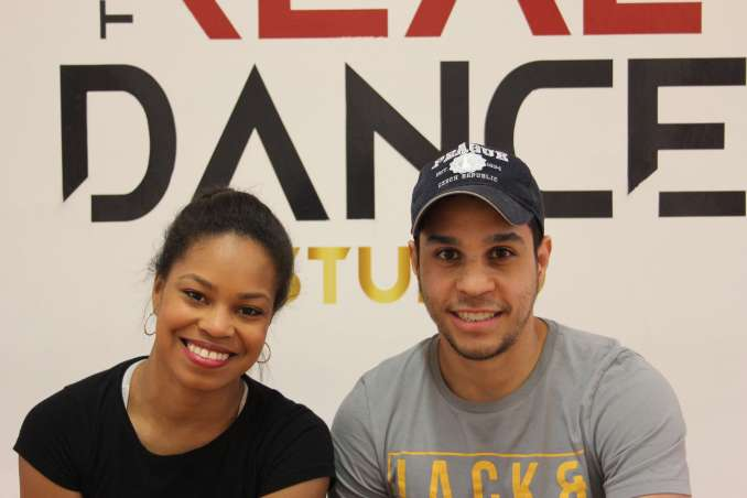 Johely and David from the Real Dance Studio