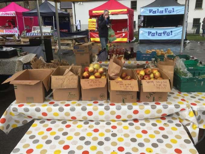 The Goode Seasonal Produce Stall Marlay Park Market April 2018