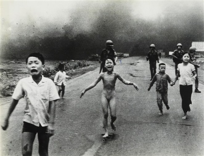 Napalm girl by Nick Ut // The Baltimore Sun