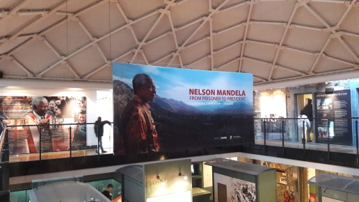 Exhibition Nelson Mandela