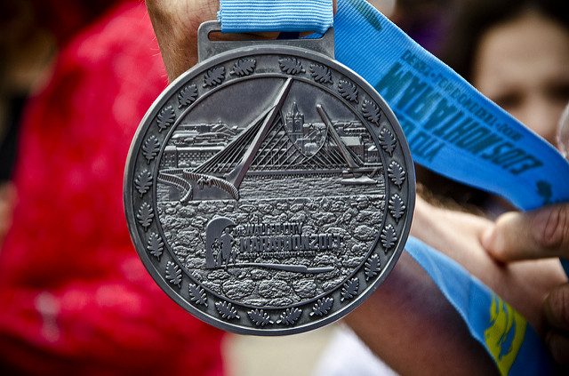 Walled City Marathon Medal