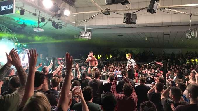OTT Wrestling at the National Stadium, Dublin