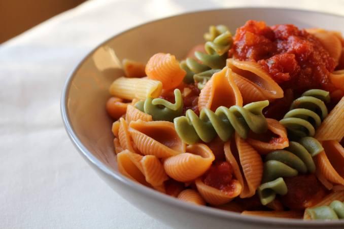 Vegetarian Pasta Dish (Ross Gunderson) -  Flickr