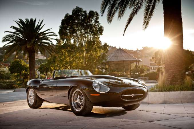 The Eagle Speedster; a modern incarnation of the E-Type Jag.