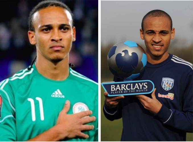 Peter Odemwingie featured in 63 games for Nigeria and played in the English Premier League before retirement. Photo credit: Flickr