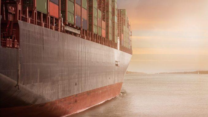 Large cargo vessel