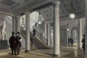 Athenaeum Lobby hall, 1845