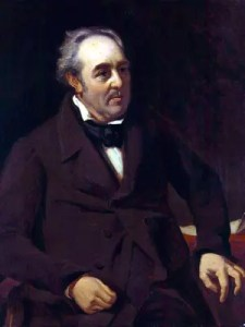 Walter Savage Landor. Portrait by William Fisher.