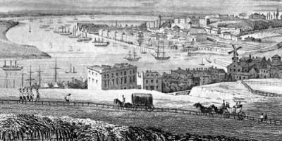 Chatham. Illustration dating from around 1830.