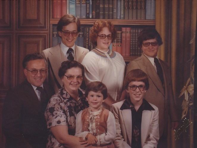 1980- F Bert Lucy Carol Chris B Alan ML Lee