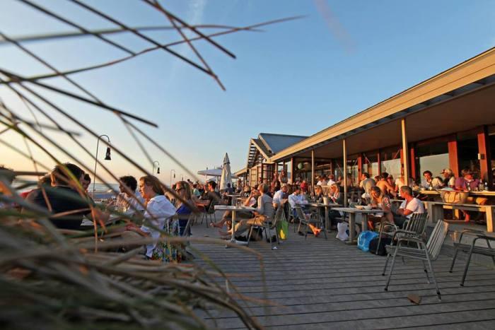 Strandtenten aan de Nederlandse kust
