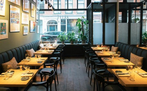 Franse restaurants in Amsterdam