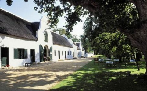 Wijnhuis Groot Constantia Zuid-Afrika