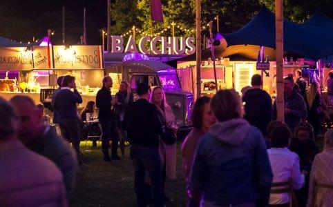 Bacchus wijnfestival in Amsterdam
