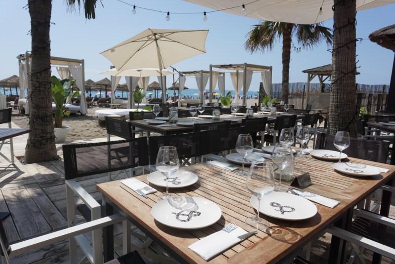 Nuevo y Sur Beach Club in Malaga