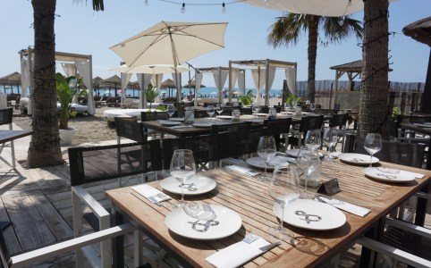 Nuevo y Sur Beach Club in Malaga