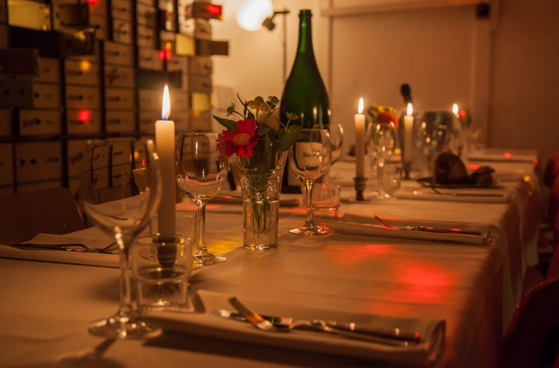 Private dining in Amsterdam