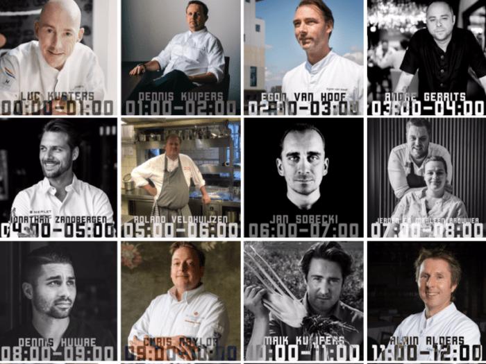 24 Top Chefs koken tijdens 24H Chefs voor het goede doel