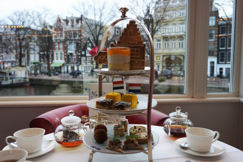 So Dutch Afternoon Tea van hotel De L'Europe Amsterdam