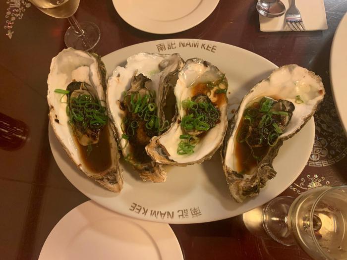 Oesters eten in Amsterdam