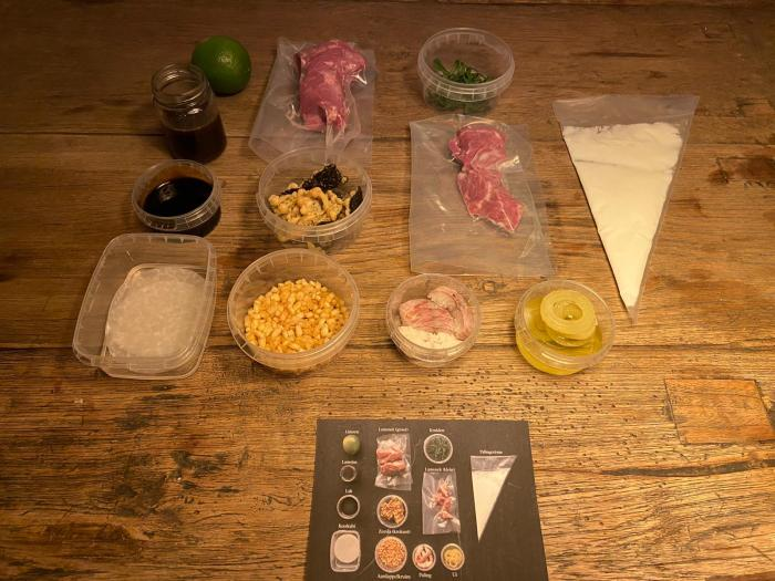 Cook Like a Chef. De luxe dinerbox van toprestaurants voor thuiskoks