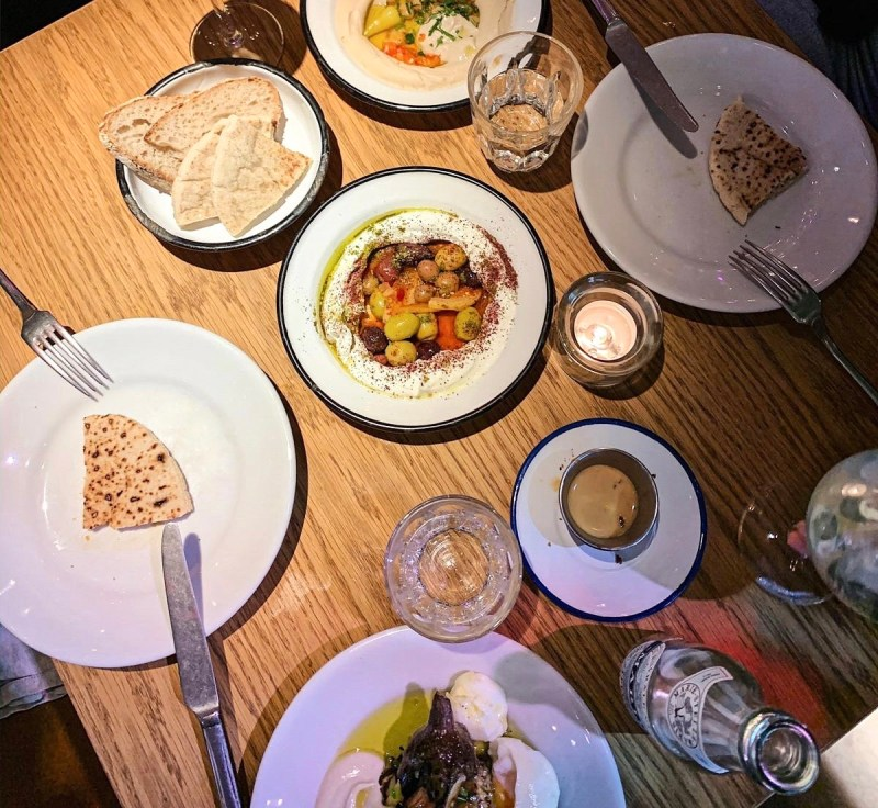 Tel Aviv Style Restaurants in Amsterdam