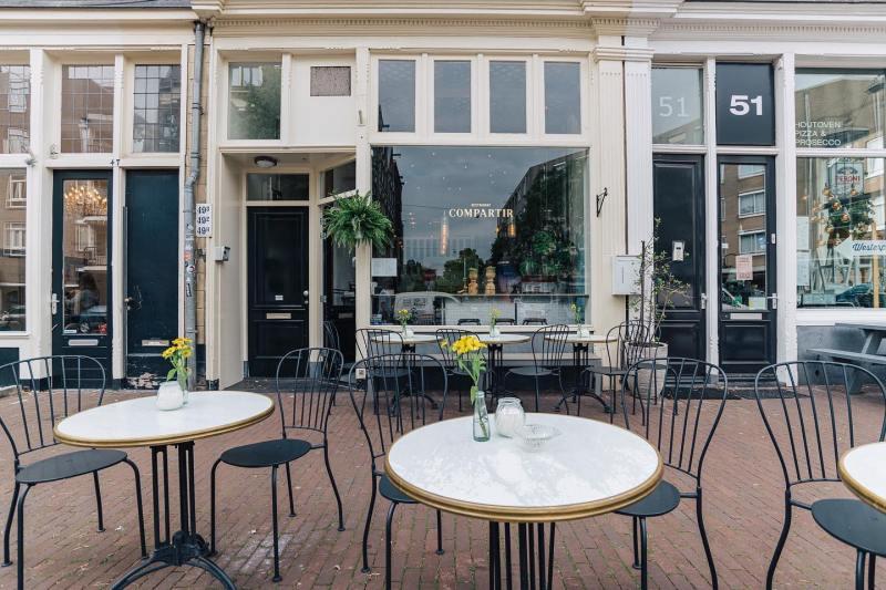 Restaurant Compartir aan de Spaarndammerstraat