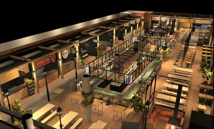 Foodhall Scheveningen opent aan de boulevard