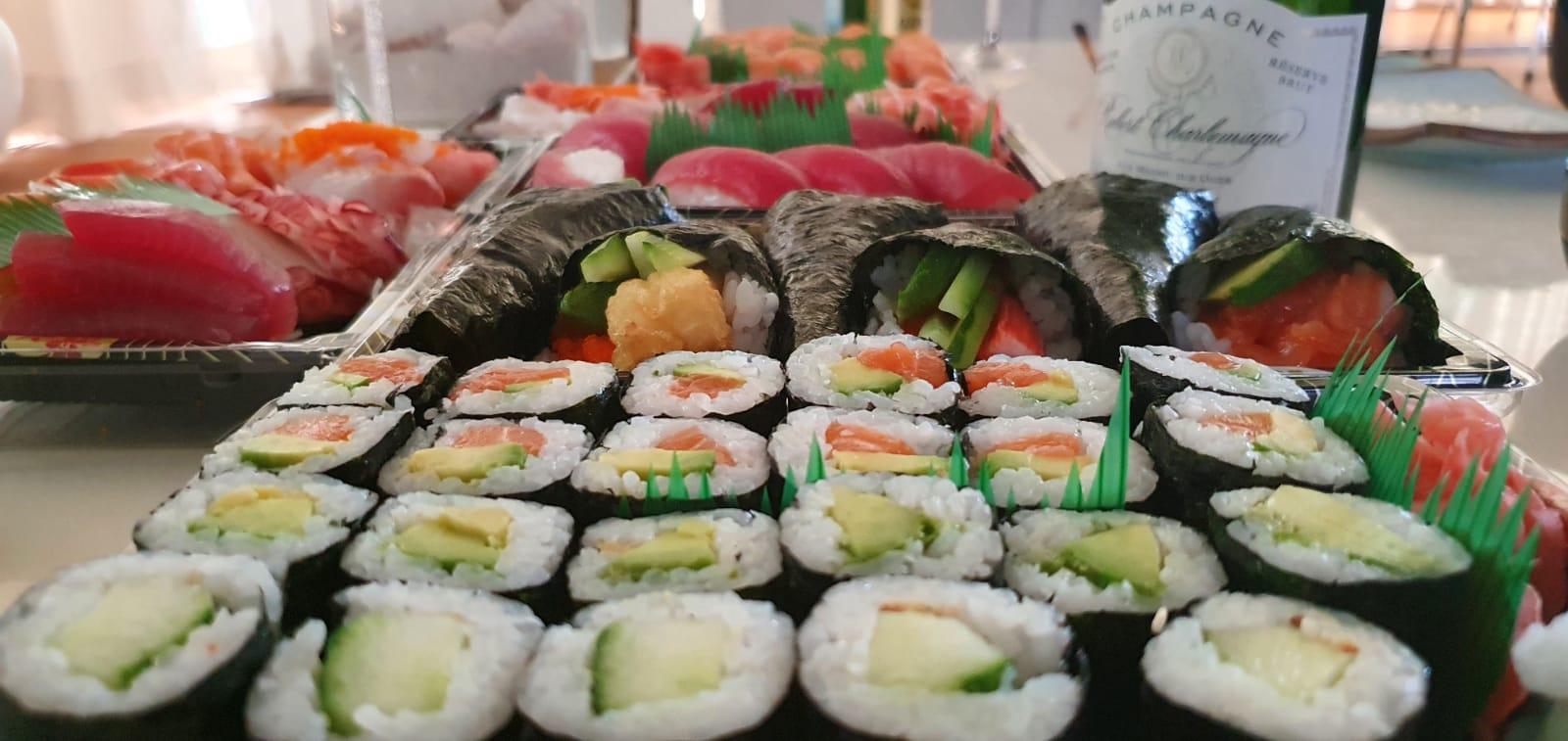 Online sushi bestellen
