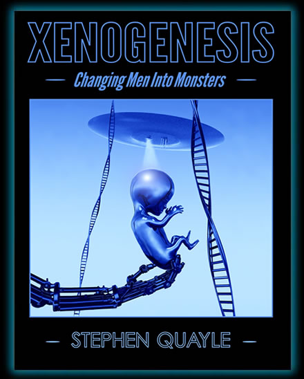I highly recommend Steve Quayle's book, Xenogenesis, which details the intended end of humanity as we know it.