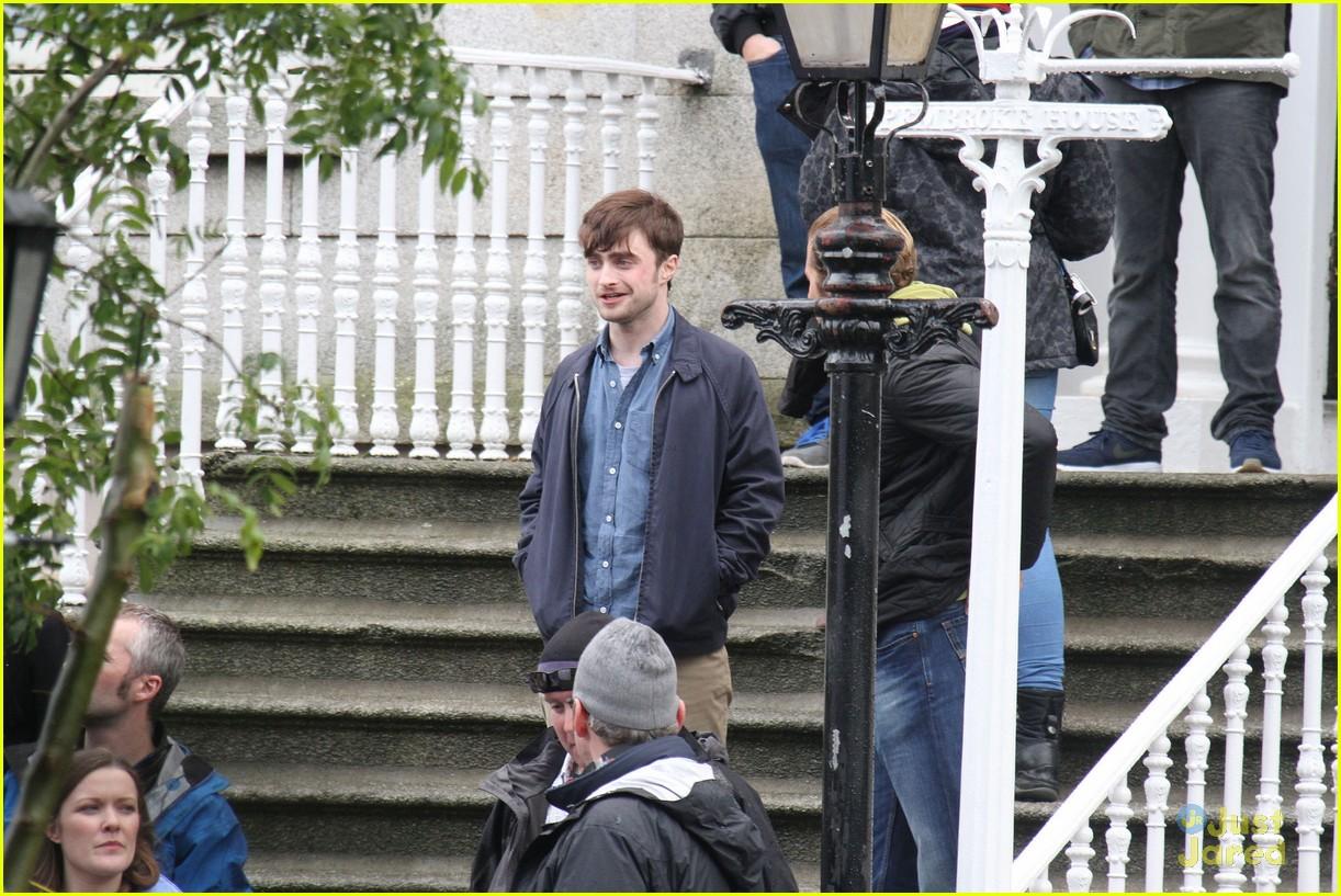 Daniel Radcliffe in Dublin, Ireland