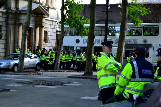 Plenty of Garda kept busy