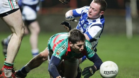Damien O'Connor in action for Laois against Mayo in this years Allianz National League