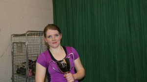 Clare recently won bronze for Ireland in Europe