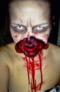 Zombie look by gemma