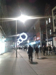 Henry Street calming down after a crazy weekend of Black Friday