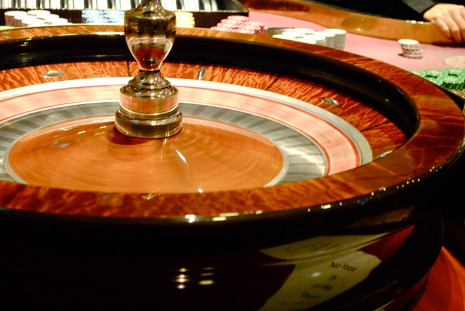 The turning of the roulette tables is mesmorising, as everyone waits with baited breath for the outcome