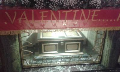 St Valentine Relics, White Friar Street. Photo by Sinéad Fitzgerald.